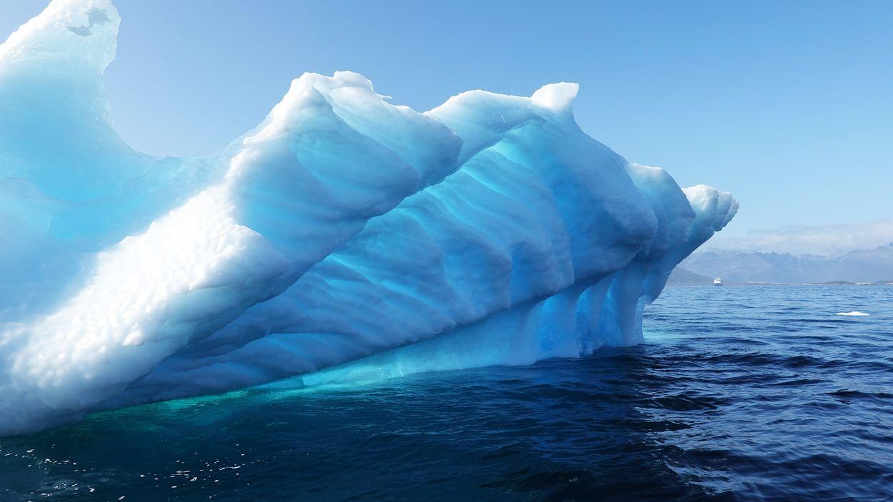 Afbeelding van Groenland gaat smeltwater exporteren