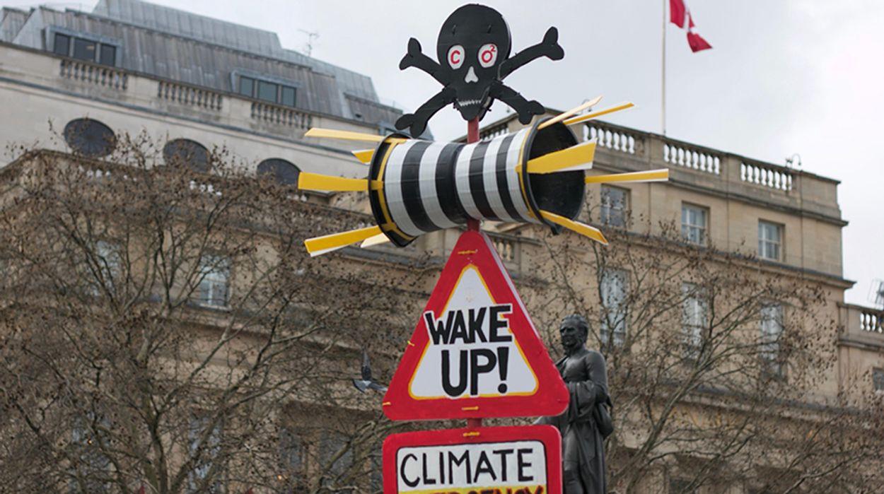 """Afbeelding van Thunberg op de klimaattop: """"Hoe durven jullie"""""""