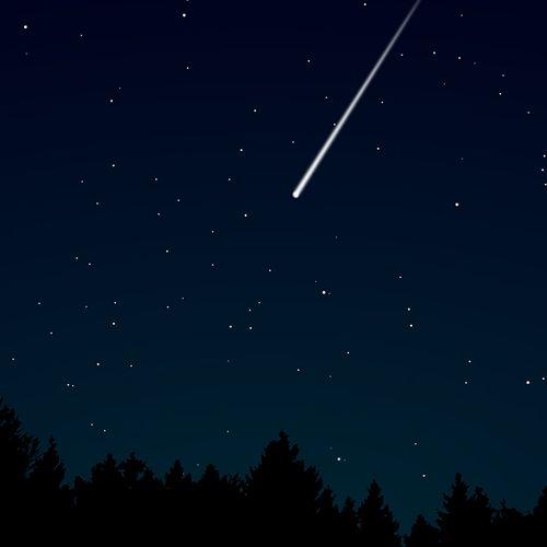 Afbeelding van Vallende sterren goed te zien dit weekend
