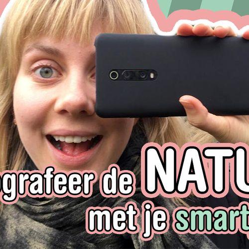 Afbeelding van Originelere natuurfoto's met je smartphone!