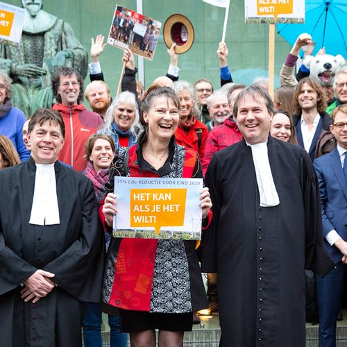 """Afbeelding van Grote stap in uitvoering """"Urgenda-vonnis"""" door kabinet"""