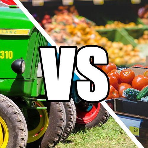 Afbeelding van Supermarkten en boerenactiegroep in de clinch